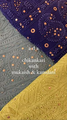 Shop Now for beautiful Ada Handcrafted Viscose Georgette Chikankari Unstitched Kurta Dupatta Sets with Muqaish Work. Color customization also available as per your shade preference. Reach us out on +91-8795160153 for more details #Ada #Adachikan #chikankari #muqaish #handcrafted #handembroidered #viscose georgette #georgette #unstitched #kurtadupatta ##lucknowchikankari #chikankarikurta #chikankaricollection #chikanwork #mukaish #lucknowichikankari #fashion #chikankariembroidery #ethnicwear