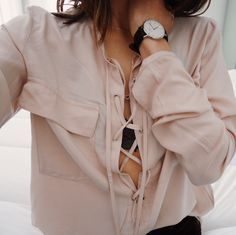 Blush tie up blouse- https://rebelliousfashion.co.uk/clothing/tops/nude-tie-front-blouse-becky.html