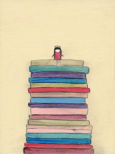 the princess and the pea - 8.5 x 11 print by Marisa and Creative Thursday