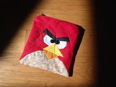 angry birds! - @Jackie Godbold Taylor should use this pattern to learn paper piecing!