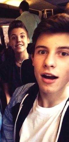 IMAGINE: This is how Shawn and Matt look when they see you for the first time.