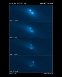 HubbleSite - NewsCenter - Hubble Witnesses an Asteroid Mysteriously Disintegrating (03/06/2014) - Release Images