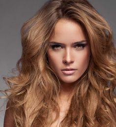 Fındık Kabuğu Uzun Saç Modelleri