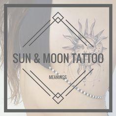 SUN & MOON TATTOO MEANINGS