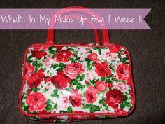 NEW POST! What's In My Make Up Bag   Week 11! #blog #blogger #bbloggers #bbloggerspost #beautychat #fbloggers #lbloggers #beauty #makeup #vitage #veilcovercream #thomasblake #mua #makeupacademy #miners #magnifibres #milani #rimmel #revlon #katemoss #camouflagecream #greenpeople #raspberrykiss