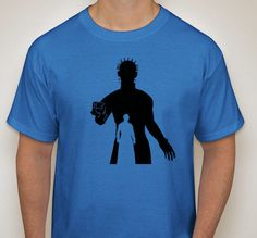 Movie Maniacs: Pinhead from Hellraiser Silhouette T-Shirt by DJsDecals on Etsy