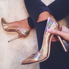 Shoespie Stylish Glossy Stiletto Heels #Heels #Women'sShoes