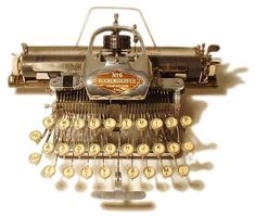 writing tools | The Antique Typewriter: Old Writing Tools Now Serve As Mechanical Art ...