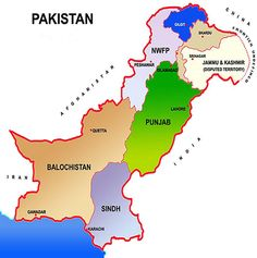 Pakistan is an Islamic Republic in South Asia. Punjab, Sindh, Baluchistan, Khyber Pakhtunkhwa and Gilgit Baltistan are 5 provinces of Pakistan. Pakistan Map, Pakistan Army, Pakistan Country, Kalash People, Indian News Papers, Continents And Oceans, Gujarati News, Social Studies Worksheets, Indus Valley Civilization