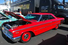 """Los Angeles-based restorer Bodie Stroud will customize a 1963.5 Ford Galaxie with a rare 427 SOHC motor on the newest episode of """"American Restoration,"""" airing Friday, March 11 at 9/8c on HISTORY. http://www.gearheads4life.com/news/bodie-stroud-revamps-a-1963-ford-galaxie/"""