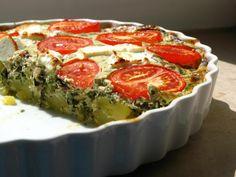 Gourmandises végétariennes: Gâteau de pommes de terre aux blettes et aux épinards