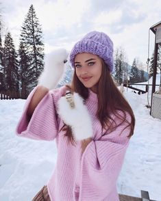 Mittens of the Internet: Photo Kristina Krayt, Country Casual, Angora Sweater, Vintage Winter, Curvy Outfits, Skinny, Girls Jeans, Casual Chic, Mittens