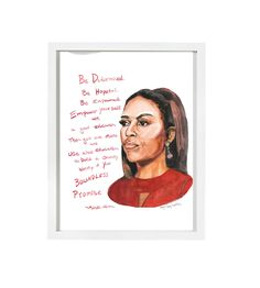 Michelle Obama--Print
