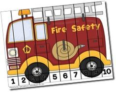 Fire Safety Activities geared for grades K and 1...