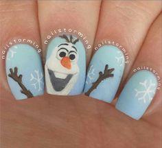 20 Awesome Holiday Nail Designs for Short Nails 22 Easy Nail Art Designs for Short Nails Cute Christmas Nails, Christmas Nail Art, Holiday Nails, Diy Christmas, Simple Nail Art Designs, Short Nail Designs, Kid Nail Designs, Nail Art Diy, Diy Nails