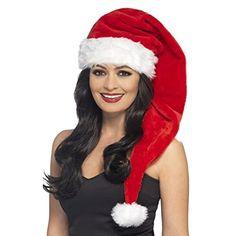 Si buscas un gorro de Papa Noel para adulto te va a encantar este sombrero  de Santa Claus para Navidad a63192419ee