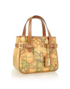 Alviero Martini 1a Classe Prima Geo Printed Mini Handbag 358 00 Actual Transaction Amount