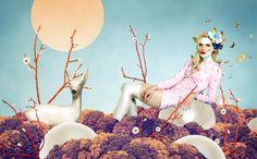Mix Media Illustrations by Vesna Pesic | Cuded