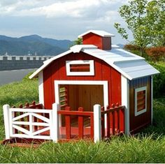 A barn/puppy house. yes please :) Do they come in XL?!
