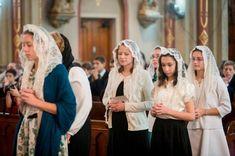 Should I Veil for Mass? A Debate Between Me & My Brain