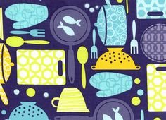 Cookware Cotton Fabric Charcoal