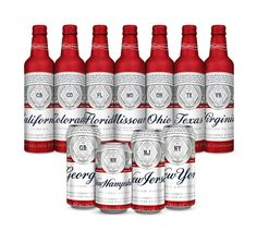 No matter your opinion of the megabrewer's premier beer, when it makes a change like an update to its packaging, it's news. For more details, see below: NEW YORK– Beginning today, 11 states will see their namesake on Budweiser bottles and cans as part of the brand's latest evolution of its iconic summer packaging. Available today through the end of September, Budweiser's newest look celebrates the local states Budweiser and its breweries call home.