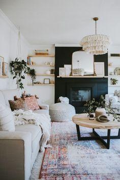 Boho Living Room, Living Room Decor, Barn Living, Dining Room, Bohemian Living, Cozy Living, Bohemian Decor, Room Wall Decor, Bedroom Decor