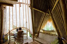 The green school, bali. I would never skip a day of school...