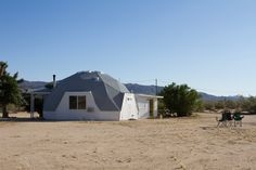 Kathrin & Brian's Dome in the Desert