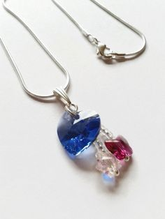 Blue Swarovski Elements Crystal Heart Pendant Necklace from Twinkle Planet https://www.etsy.com/listing/163192759/blue-swarovski-elements-crystal-heart?ref=shop_home_active_10