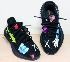 584dbbbf8106d Sneaker customizer imagines what a KAWS x adidas Yeezy Boost collab might  look like.