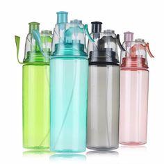 Water Bottle - Spray Bottle Drink Bottles, Water Bottles, Mist Spray, Tea Infuser, Plastic Bottles, Drinkware, Spray Bottle, Mists, Drinking