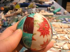 Covering Round Ornaments | Polymer Clay Beads