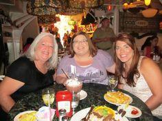 Pam, Jenn & Steph in NYC @ Serendipity
