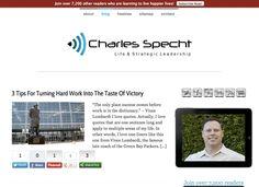 My new website, featured on StudioPress.com