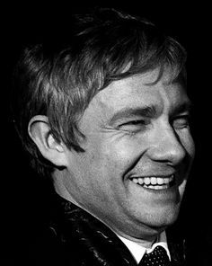 I'm sorry but Martin Freeman laughing is the cutest thing ever