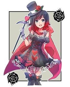 Ruby, Queen of Hearts! | RWBY | Know Your Meme