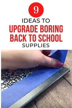 Back To School Crafts, Going Back To School, School Fun, Middle School, School Days, Diy Craft Projects, Craft Tutorials, Diy Crafts, Recycled Crafts