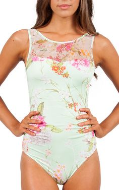 J1820 MidSummer High Neck Swimsuit. This is beautiful!