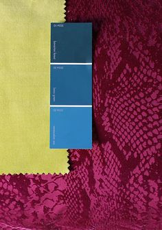 Color Trend: Chartreuse Teal and Magenta - Chartreuse, magenta and teal are doing it for me right now. I had no intentions of putting this combo together