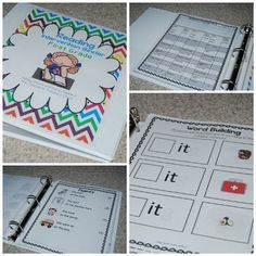 First Grade Reading Intervention Binder | TpT