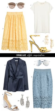 Easter, Wedding or Bridal Shower Outfit Ideas
