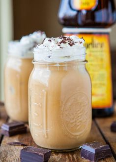 Creamy Boozy Iced Coffee~~~~~~ Made with Frangelico,It's a liqueurmade withtoastedhazelnuts, brown sugar, cinnamon, cocoa and vanilla extract.