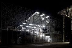 Schaustelle, Munchen (museum / galerie / tijdelijk paviljoen) (J. Mayer H. Architects)