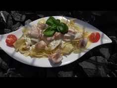 Lachsnudeln Thermomix®TM5 - YouTube