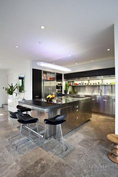 Stainless steels kitchen! Love it