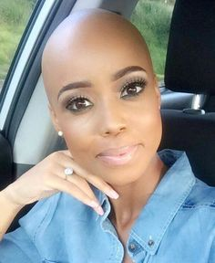 19 Stunning Black Women Whose Bald Heads Will Leave You Spee.- 19 Stunning Black Women Whose Bald Heads Will Leave You Speechless Bald and Beautiful Women – 19 Stunning Black Women Whose Bald Heads Will Leave You Speechless - Bald Head Women, Hair Loss Women, Short Hair Cuts, Short Hair Styles, Bald Look, Beautiful Black Women, Stunning Women, Beautiful Females, Black Women Hairstyles