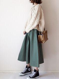 Pin by Vladislava on To dress beautifully in 2020 Muslim Fashion, Modest Fashion, Skirt Fashion, Fashion Outfits, Japan Fashion Casual, Modern Hijab Fashion, Fashion Tips, Aesthetic Fashion, Aesthetic Clothes