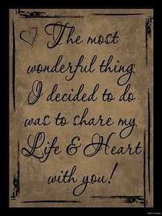 SHARE MY LIFE WITH YOU LOVE SIGN Inspirational Primitive Country Home Decor in Home & Garden, Home Décor, Plaques & Signs | eBay