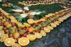 Fruit carpet Guatemala
